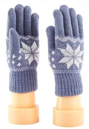 72 Units of Kids Knitted Gloves - Kids Winter Gloves