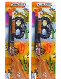 48 Bulk 5 PC Western Ranger Dart Gun & Mask Sets