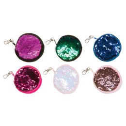 24 Wholesale Mermaid Scales Earbud Pouches