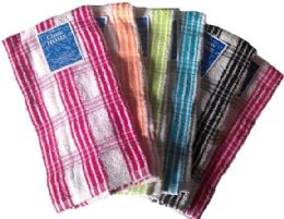 36 of 15 X 25 Terry Yarn Dyed Kitchen Towel-