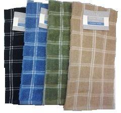 36 of 2 Pk 12x12 Heavy Yarn Dyed Dishcloth