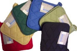 36 of 2Pk 8X8 Solid Woven Pot Holder