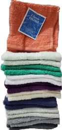 36 of 2 pk 12X12 Heavy Solid Color Washcloth