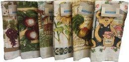 36 of Velour Printed K.Towel Assts Designs O/S