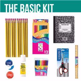 Bulk GEDDES Basic Essentials School Supplies 6 Kits in all!