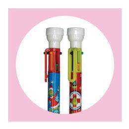 10 Bulk 2ct. Grinch 6 Color Pen With Stamper