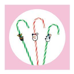 10 Bulk 3ct. Christmas Candy Cane Pens