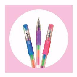 15 Bulk 2ct. Rainbow Gel Pens