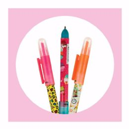 20 Units of 2ct. Study Buddy Pen and Highlighter Combo - Highlighter