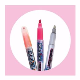 10 Units of 4ct. Magical Erasable Highlighters - Highlighter