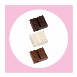 50 Bulk 1ct. Scented Chocolate Bar Sharpener Eraser