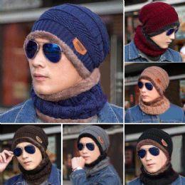 48 Units of 2PC Winter Set - Winter Sets Scarves , Hats & Gloves