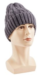 48 Units of Winter Warm Knitted Beanie - Winter Hats