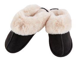 24 Bulk Mens Warm Slipper with Fur