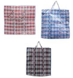 60 Units of PL. LAUNDRY BAG 65 X 65 X 30 CM 12/BUNDLE 120/CS - Laundry  Supplies