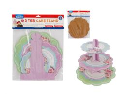 144 Wholesale 3 Tier Cake Stand