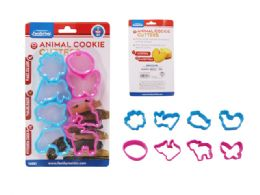 96 Units of 8pc Cookie Cutters - Baking Supplies