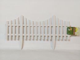 24 Units of PLASTIC GARDEN FENCE FLEXIBLE 2 ASST COLORS 24PC/CS - Garden Tools