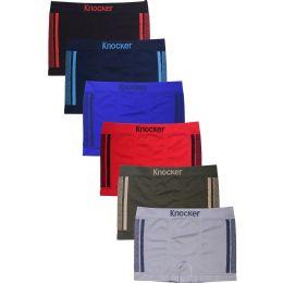 288 Units of KNOCKER JUNIOR SEAMLESS BOXER BRIEFS - Boys Underwear