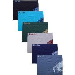 288 Units of KNOCKER MEN'S SEAMLESS BOXER BRIEFS - Boys Underwear