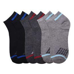 432 Units of Boys Spandex Ankle Socks Size 6-8 - Boys Ankle Sock