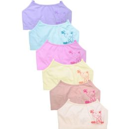 432 Units of SOFRA GIRL'S SEAMLESS CAMI TOP - Womens Camisoles & Tank Tops