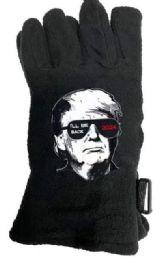 24 Units of Trump 2024 Fleece Gloves I'll Be Back - Fleece Gloves