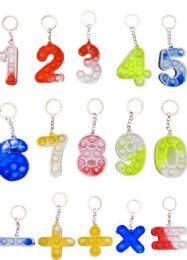 12 Wholesale Pop It Keychains