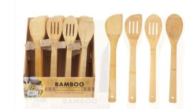 40 Units of Bamboo Kitchen Utensil Assorted - Kitchen Gear
