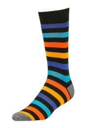 120 Units of LIBERO MEN'S CASUAL CREW SOCKS 10-13 - Mens Dress Sock