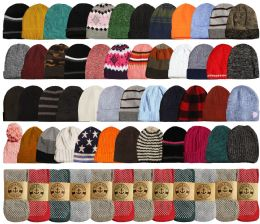 96 Units of Yacht & Smith Womens Warm Winter Hats And Thermal Gripper Socks Set - Winter Care Sets