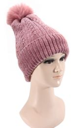 36 Units of Warm Knitted Hat - Winter Sets Scarves , Hats & Gloves