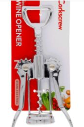 24 Units of Stainless Steel Wine Opener 7 Inch - Kitchen Gadgets & Tools
