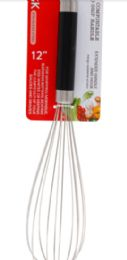 24 Units of Stainless Steel Whisk 12 Inch - Kitchen Gadgets & Tools
