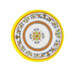 24 Units of 8 Inch Round Plate - Plastic Bowls and Plates
