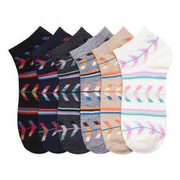 432 Units of MAMIA SPANDEX SOCKS (NATIVE) 9-11 - Girls Ankle Sock