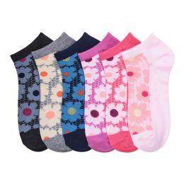 432 Units of MAMIA SPANDEX SOCKS (NATURAL) 9-11 - Girls Ankle Sock