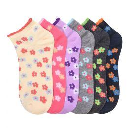 432 Units of MAMIA SPANDEX SOCKS (SCFL) 9-11 - Girls Ankle Sock