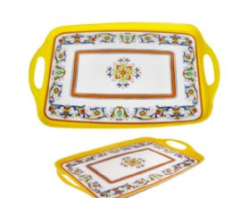 24 Units of Handled Tray 19X12 - Serving Trays