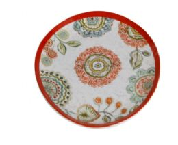 72 Units of 8 Inch Round Plate - Plastic Bowls and Plates