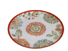 24 Units of 11 Inch Round Plate - Plastic Bowls and Plates