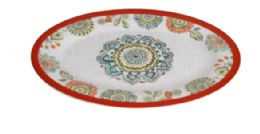24 Units of 14 Inch Oval Plate - Plastic Bowls and Plates