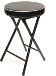 6 Units of Thick Cushion Stool Without Back 19 Inch - Home Accessories