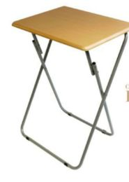 6 Units of 19x15 Snack Table Beech Color - Home Accessories