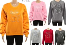 24 Units of Women's Long Sleeve Soft Sweaters with Love Logo - Womens Sweaters & Cardigan