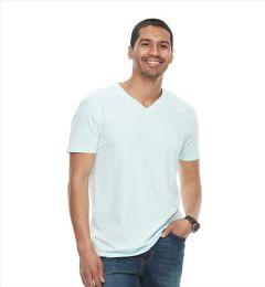 72 Units of FRUIT OF THE LOOM - V-NECK T-SHIRT - Mens T-Shirts