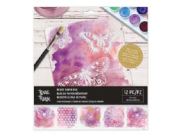 36 Wholesale Brea Reese 8 in x 8 in Water Color Resister Paper Pad 38 Sheet