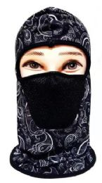 72 Units of Hooded Hat with Face Covering - Winter Beanie Hats