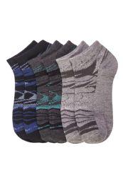 432 Units of POWER CLUB SPANDEX SOCKS (SHATTER) 4-6 - Boys Ankle Sock