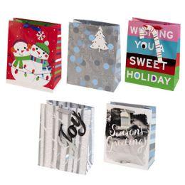 70 Units of Christmas Gift Bag Assorted - Christmas Gift Bags and Boxes